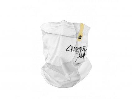 Zimní šátek snano membránou R-shield Charity Jam White | RESPILON