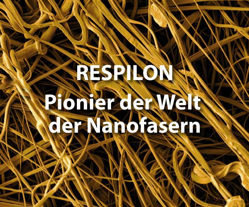 RESPILON – Pionier der Welt der Nanofasern