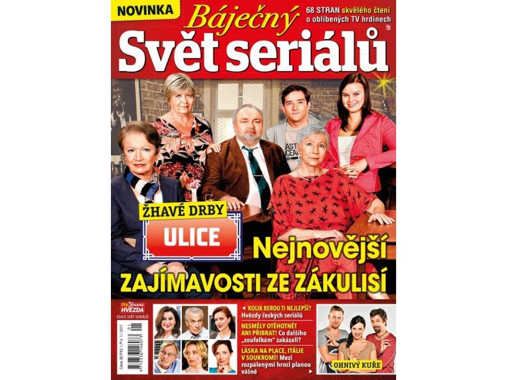 Báječný svět seriálů 2017/01 - Moje šťastná hvězda speciál