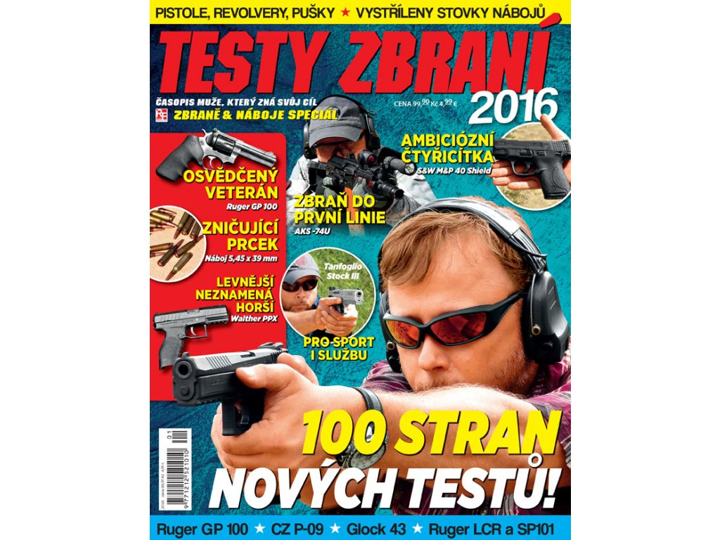Zbraně & Náboje speciál 2016/01
