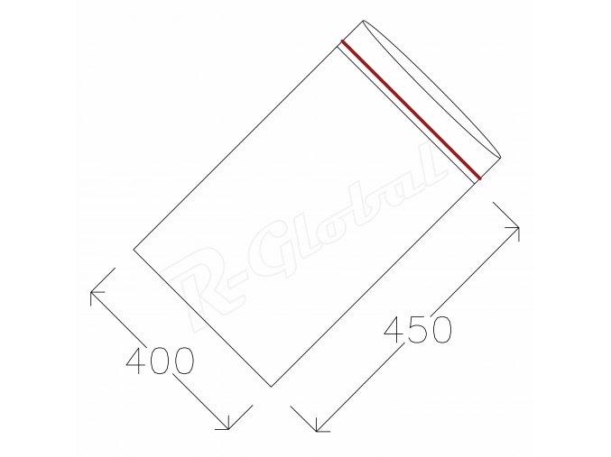 Rýchlozatváracie vrecká 400 x 450 mm