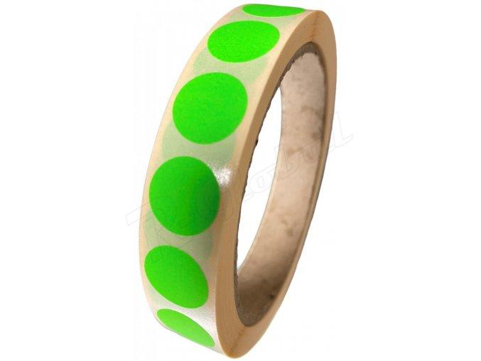 zeleny kruh 15mm