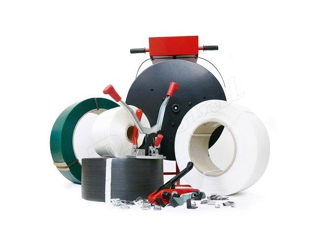 PP páska biela 12 x0,55 mm/3500m