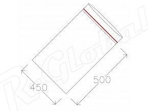 Rýchlozatváracie vrecká 450 x 500 mm