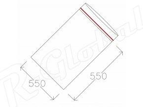 Rýchlozatváracie vrecká 550 x 550 mm