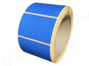 modré 60 x39 mm etikety rglobal