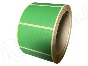 zelené etikety 60 x39 mm rglobal