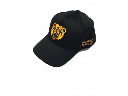 Kšiltovka plná černá logo