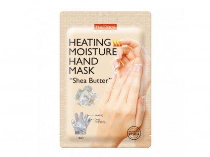 purederm hrejiva hydratacni maska na ruce s bambuckym maslem 1 par