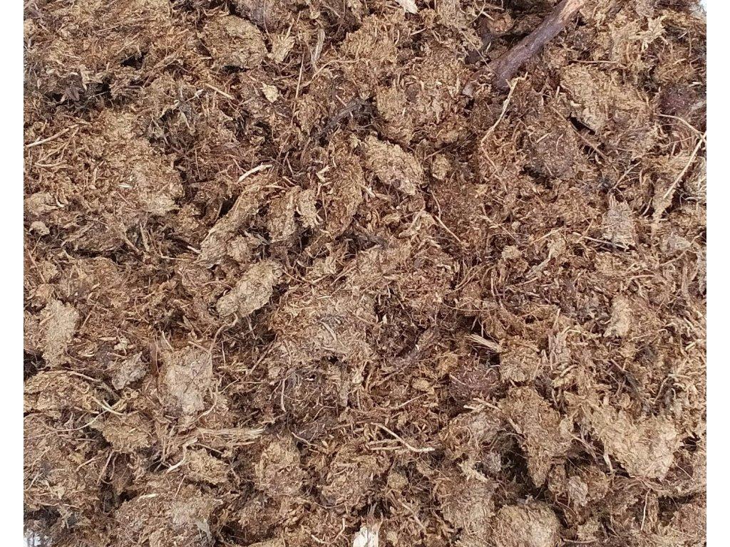 Hrubá rašelina Hawita vláknitost 10-25 mm, 1 litr