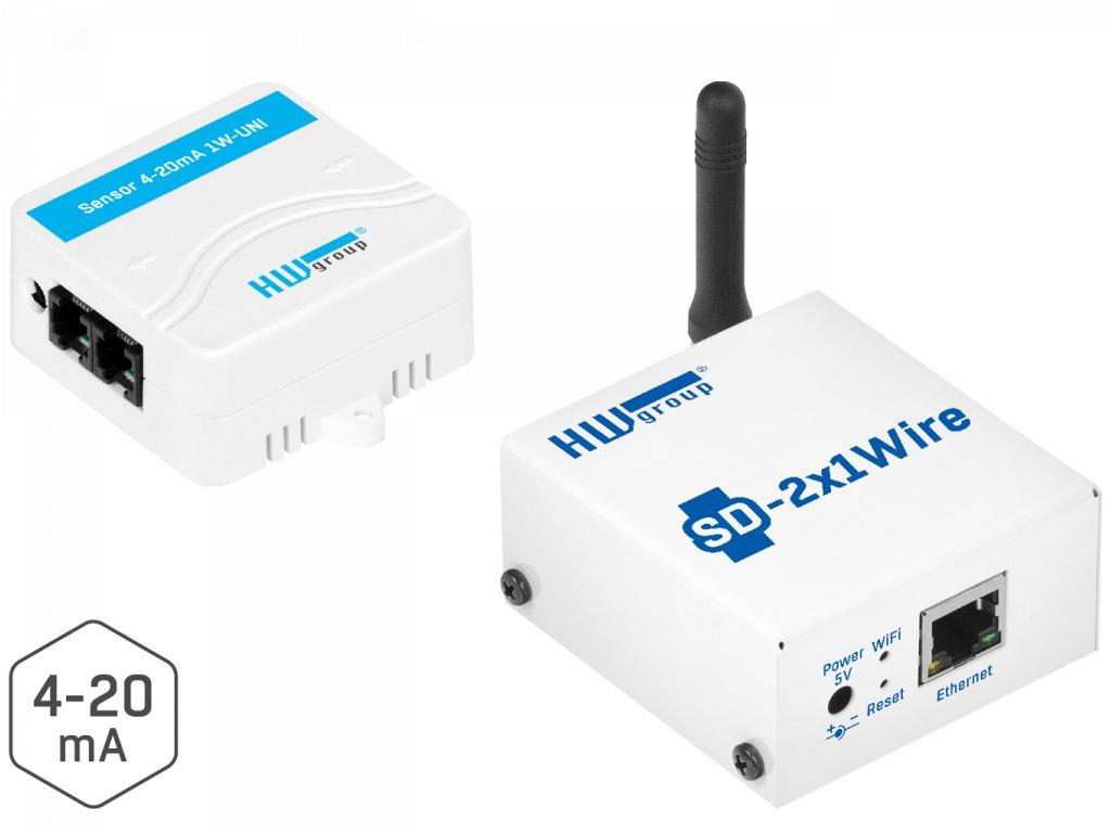 4 20mA Monitor Pack LANWi Fi