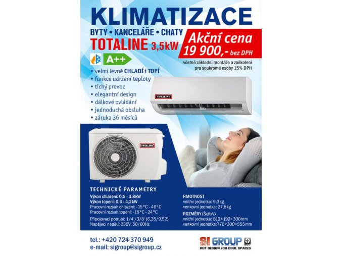 klimatizace sigroup