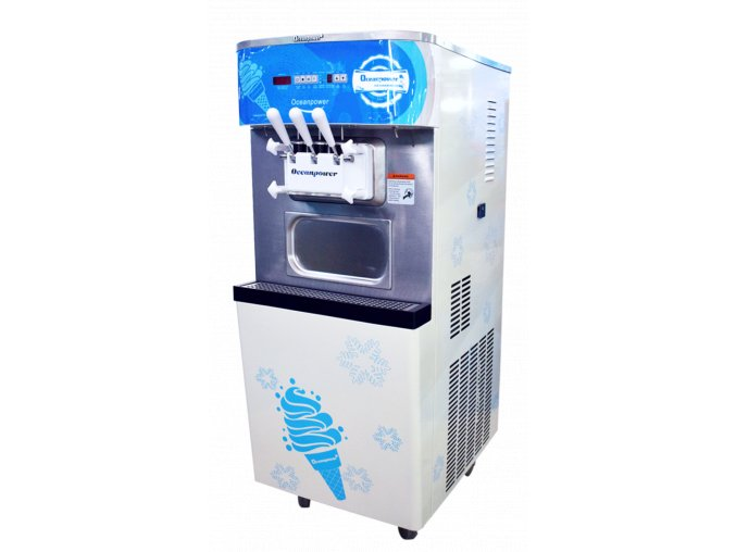 Zmrzlinový stroj Oceanpower OP 400 2+1 mix