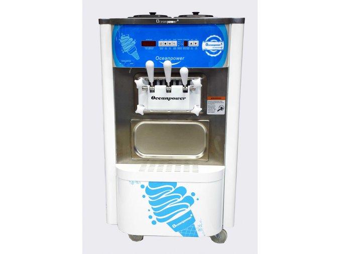 Zmrzlinový stroj 2+1 mix stolní OCEANPOWER  Výrobník zmrzliny
