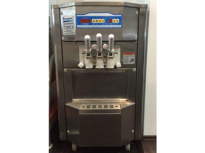 Zmrzlinový stroj 2+1 mix 230V OCEANPOWER