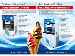 Zmrzlinový stroj OCEANPOWER OP400AP