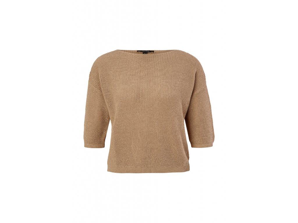 Lehký strukturovaný svetr