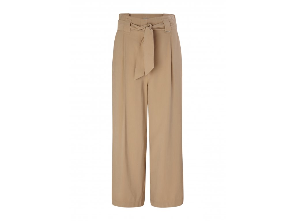 Béžové culotte kalhoty