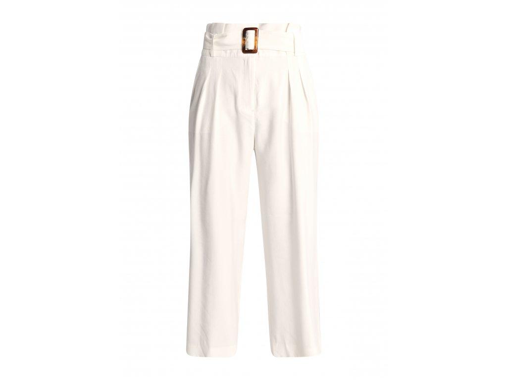 Široké kalhoty s páskem
