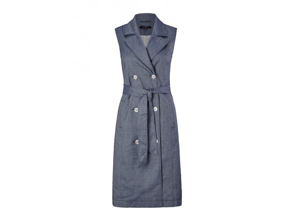 Šaty s klopovým límcem