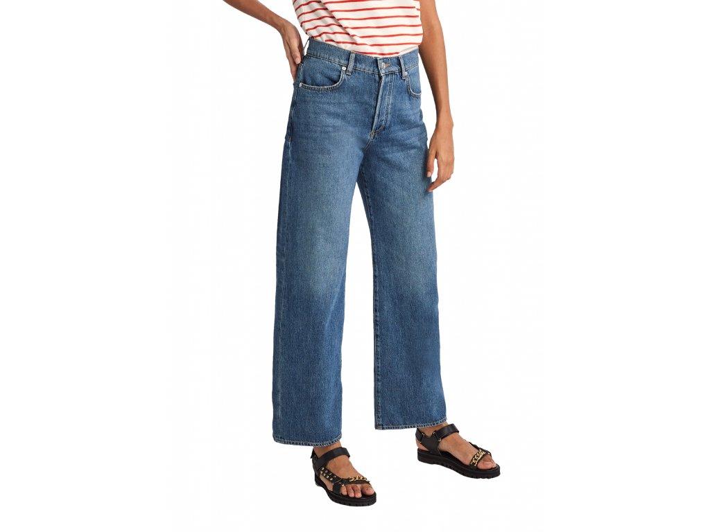 Džíny se širokými nohavicemi