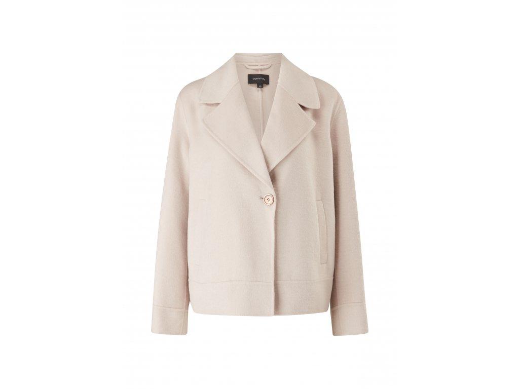 Krátký vlněný kabátek