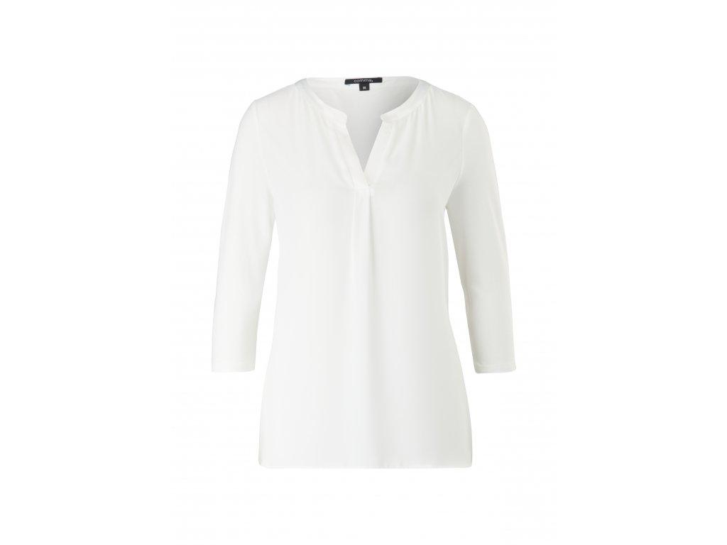 Bílé basic triko