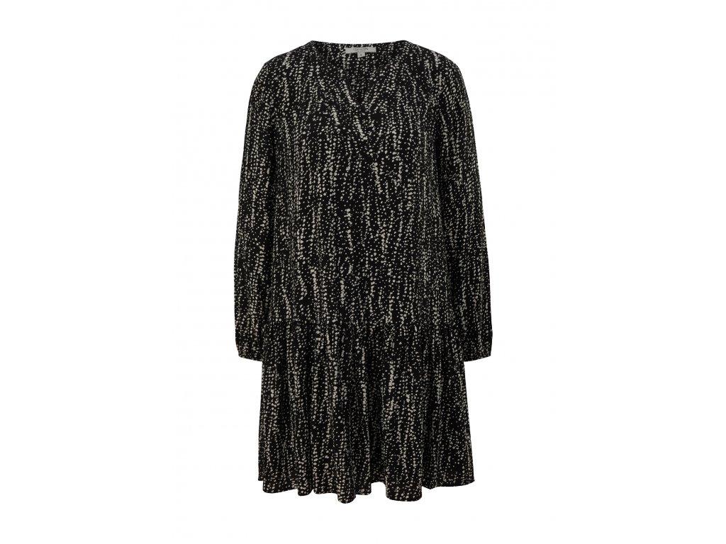 Černé volné šaty