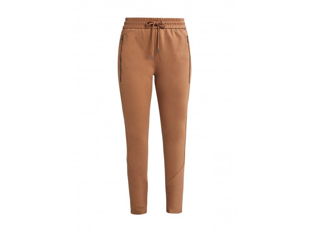 Béžové teplákové kalhoty