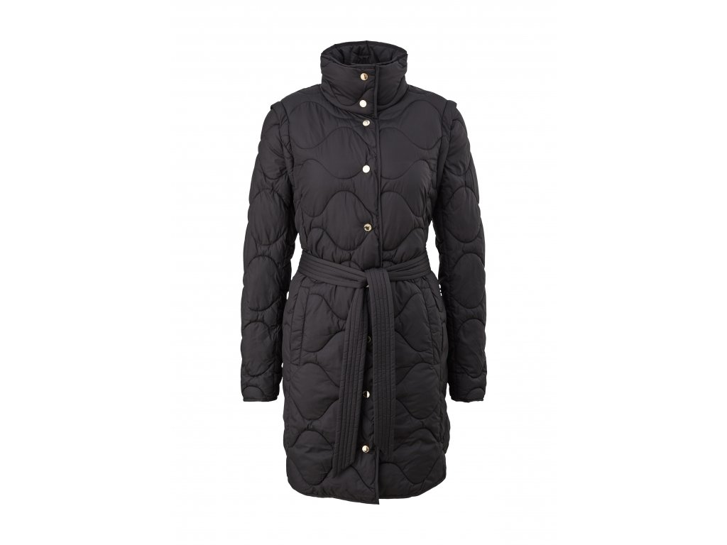 Kabát s vestou 2 v 1