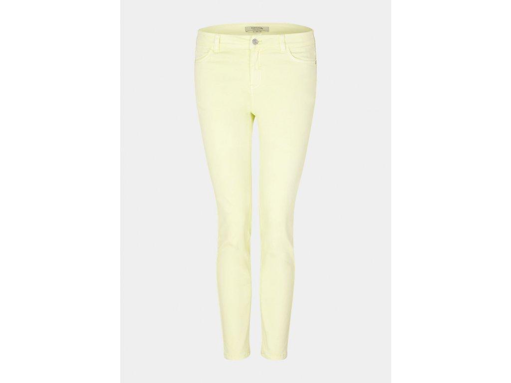 Barevné denimové kalhoty