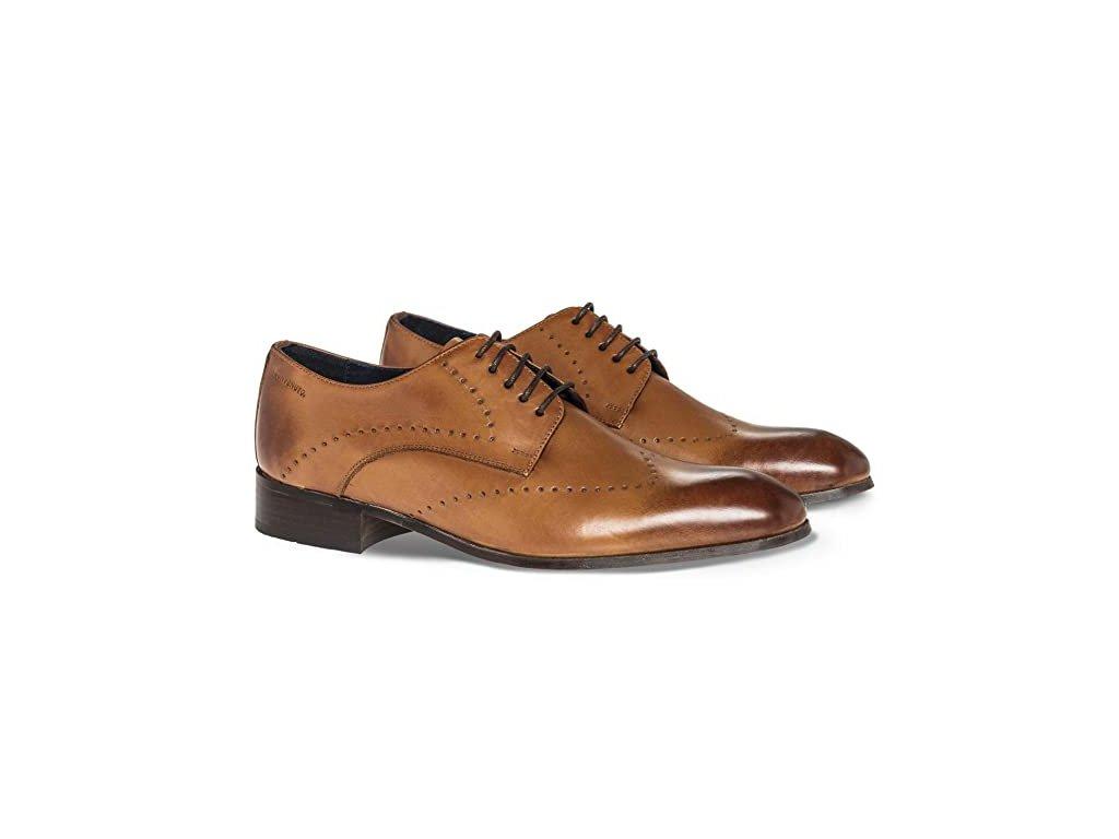 Hnědé boty pánské