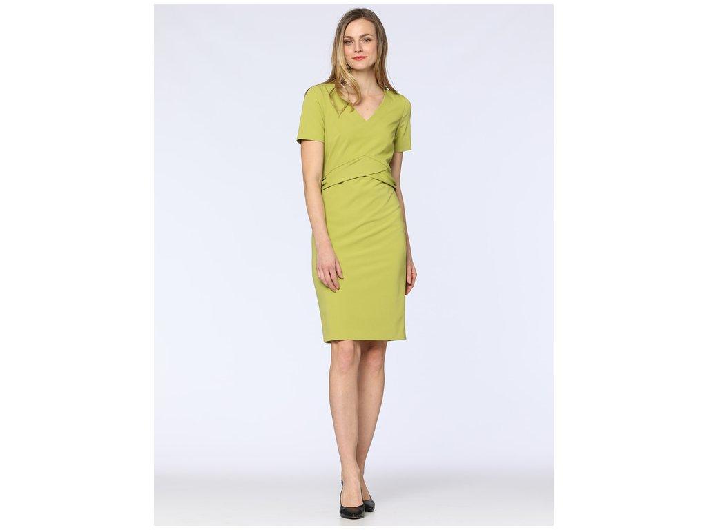 Šaty Simon (Barva Zelená, Velikost 44)