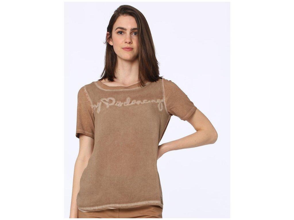 Tričko Lisa (Barva hnědá, Velikost 34)