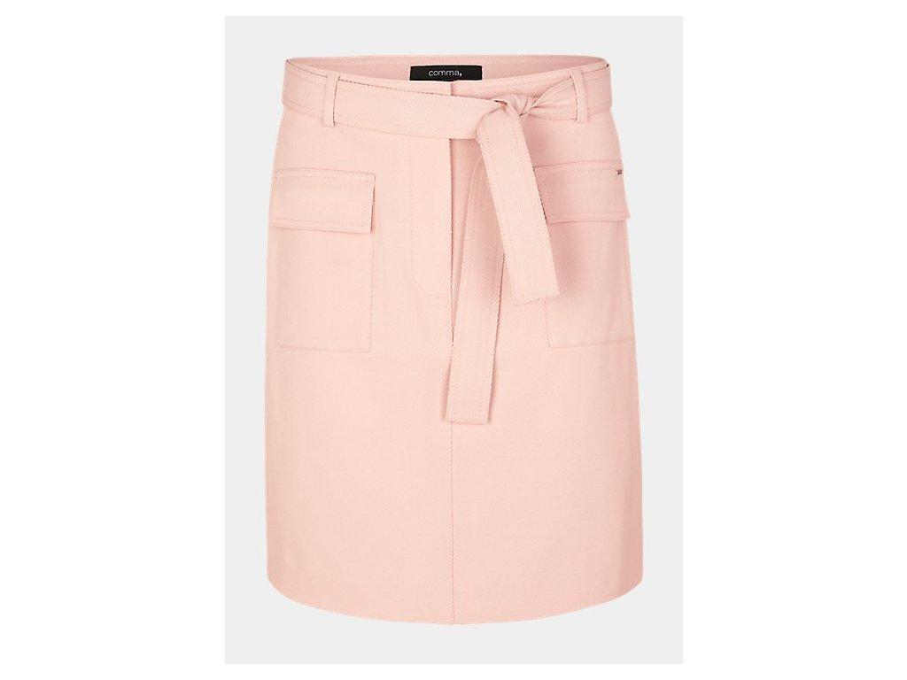 Krátká růžová sukně