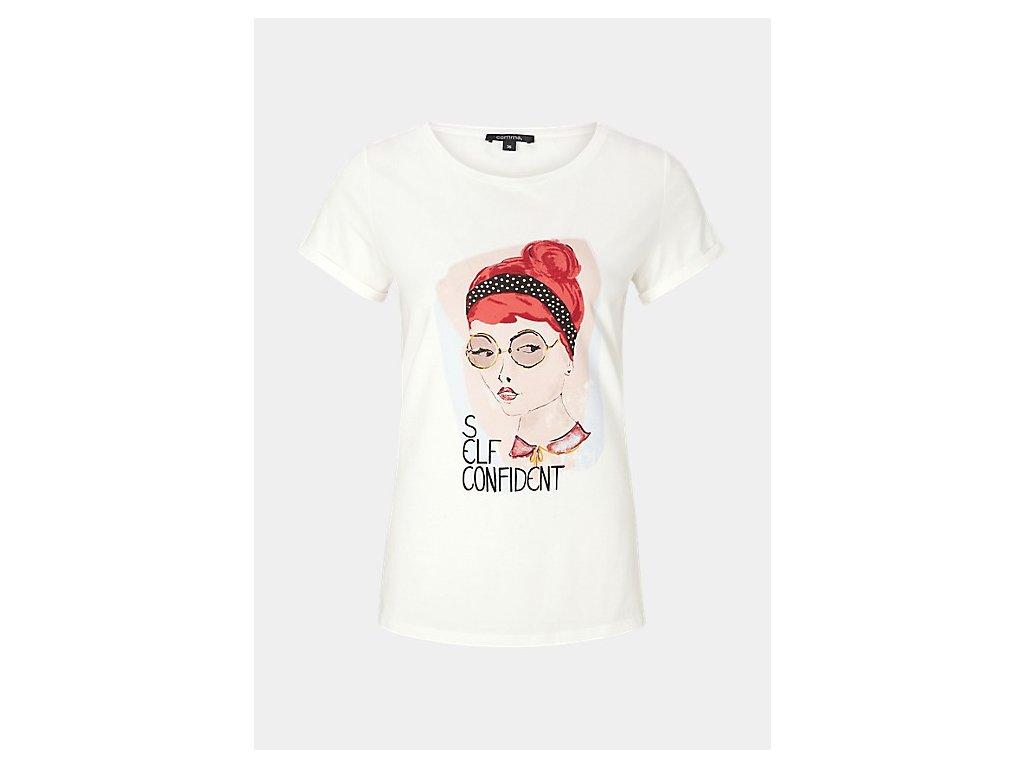 #CommaForWomen tričko