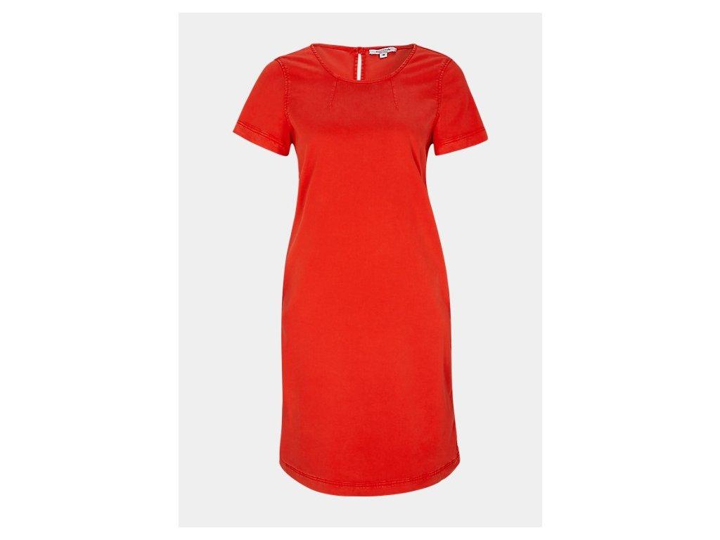 Červené letní šaty
