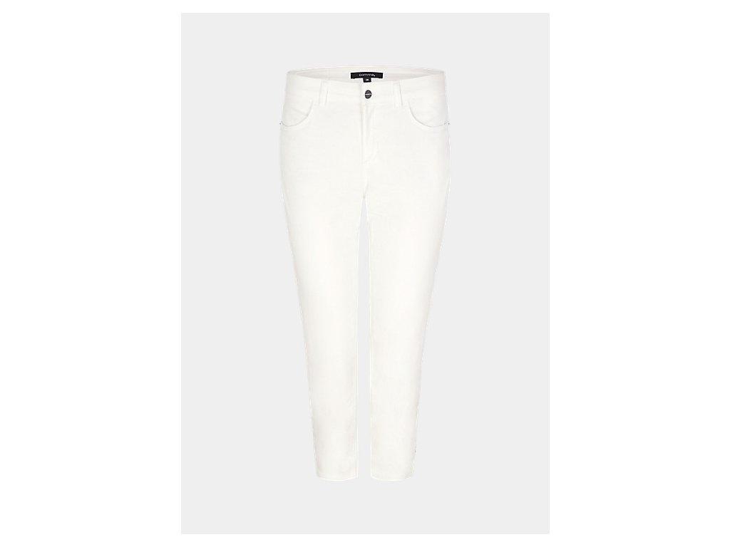 Bílé Capri kalhoty