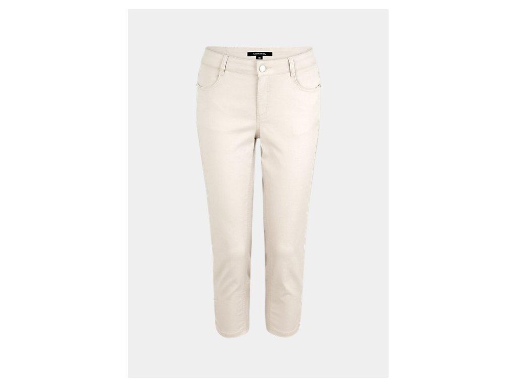 Béžové capri kalhoty