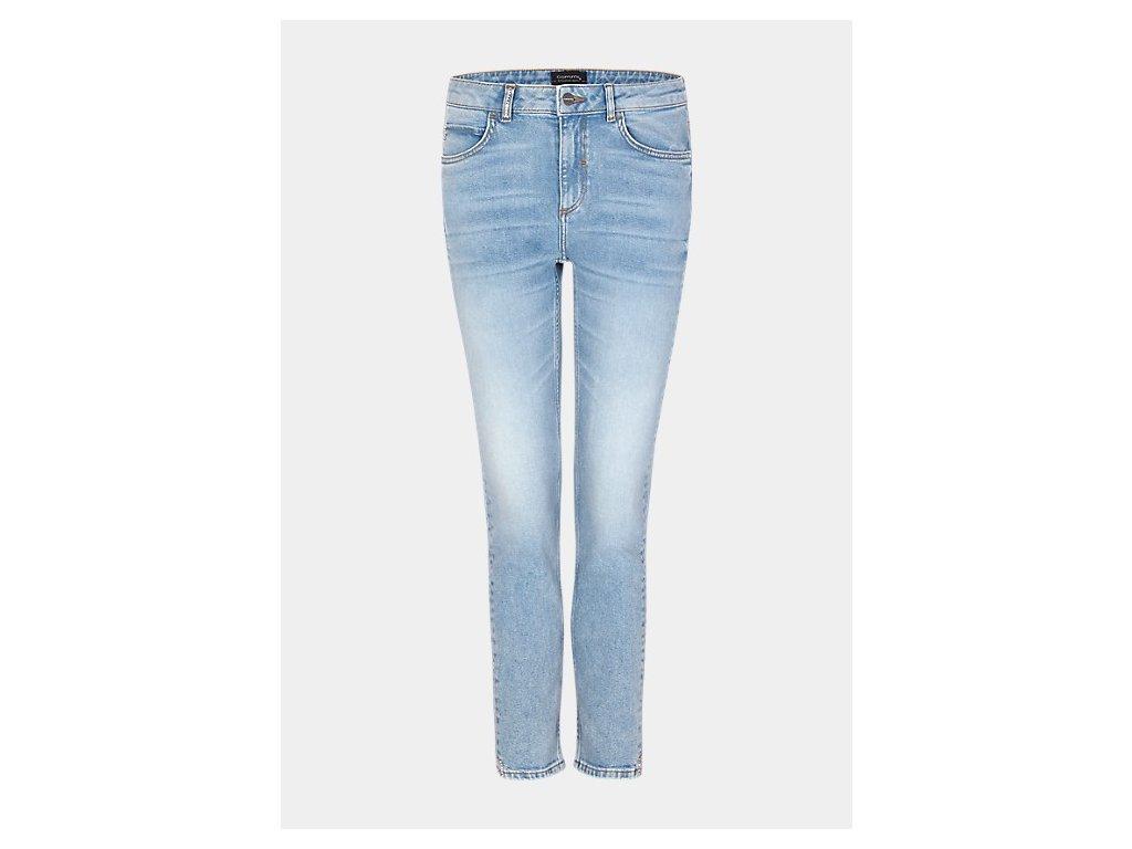 Světle modré džíny se Swarovski® krystaly