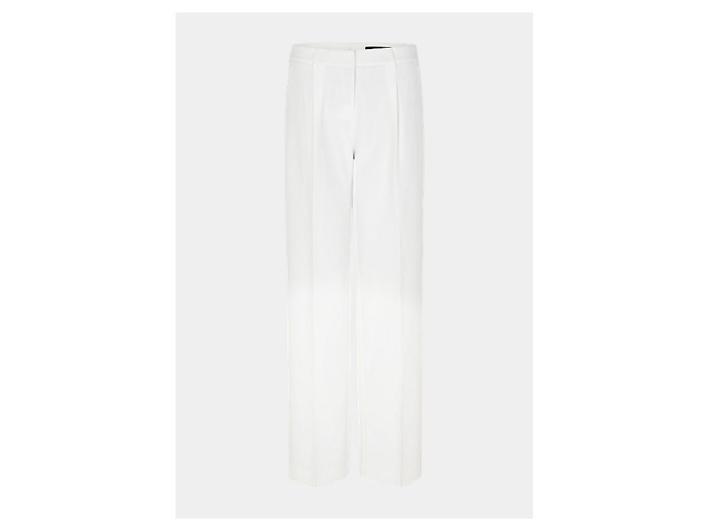 Bílé volné kalhoty