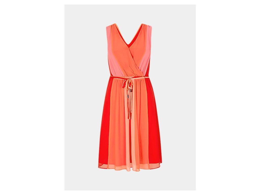 Letní oranžové šaty
