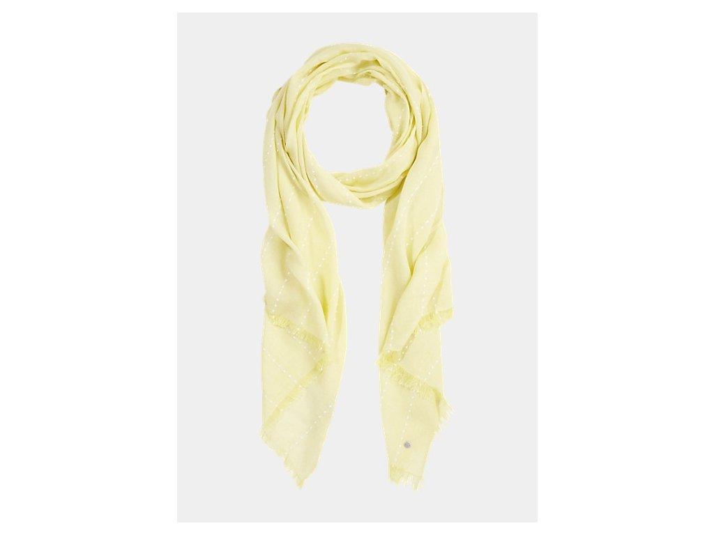 Žlutý letní šátek