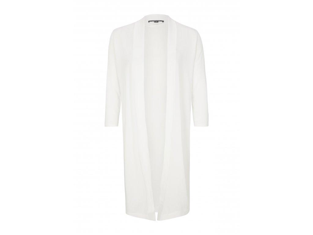 Bílý pulovr bez zapínání