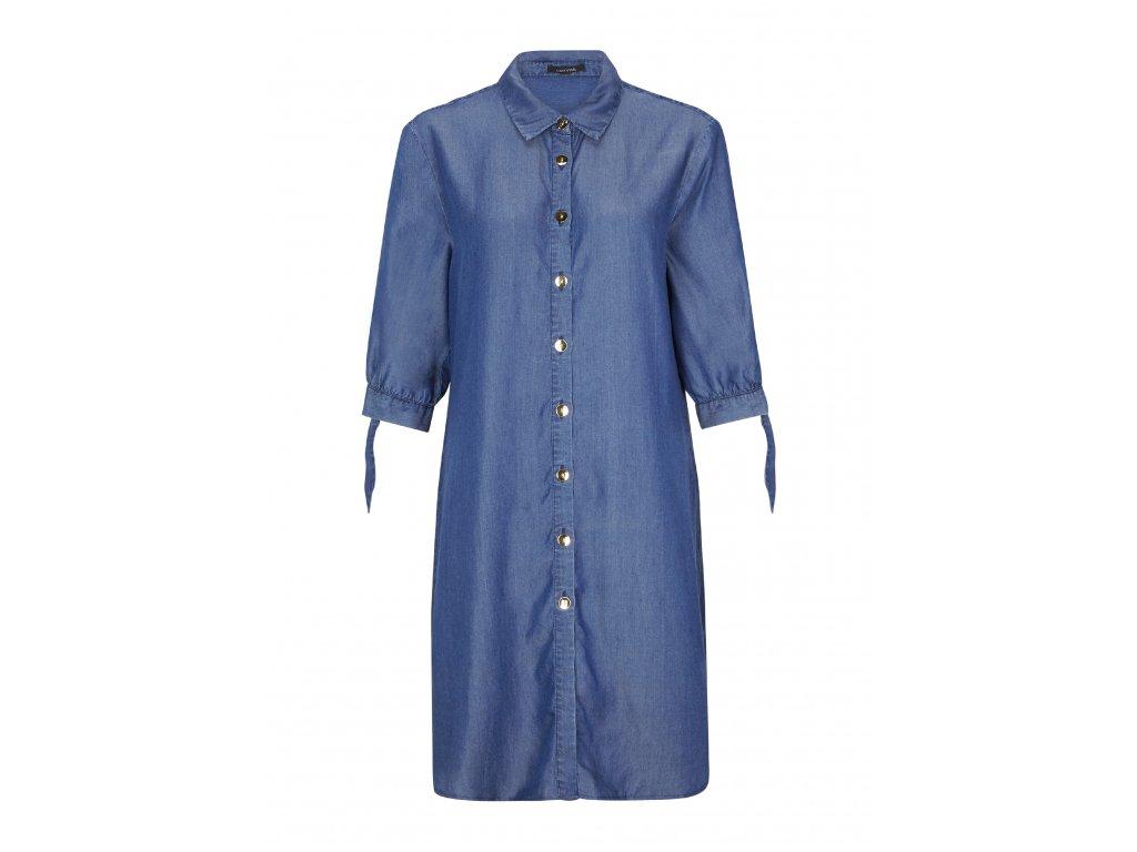 Džínové volné šaty