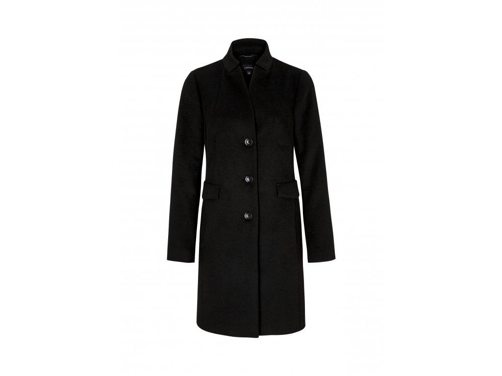 Černý dlouhý plášť