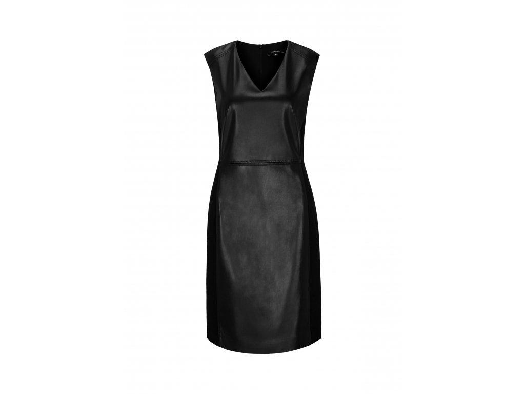 Černé pouzdrové šaty