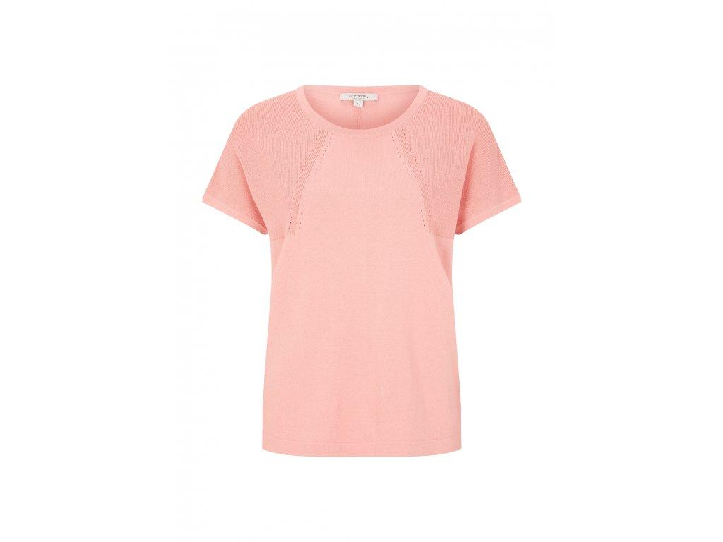 Růžový pulovr