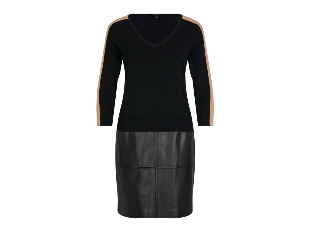 Černé podzimní šaty