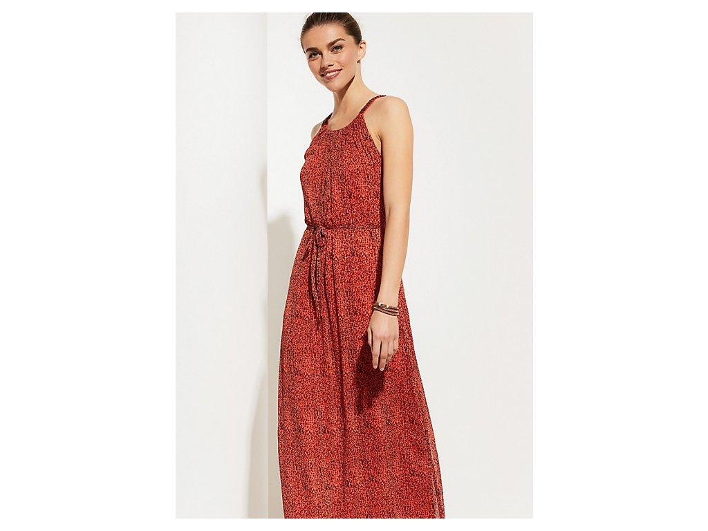 Maxi šaty z šifónu
